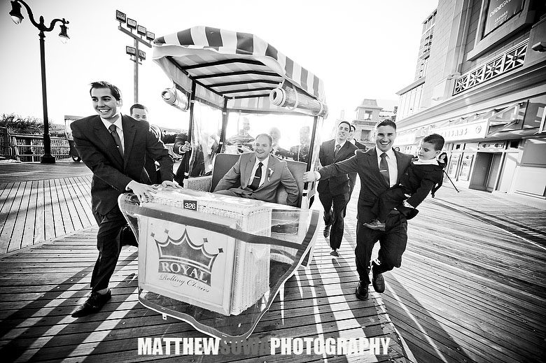 48 Atlantic City wedding